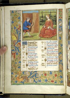 Psalter, MS M.934 fol. 4v - Images from Medieval and Renaissance Manuscripts - The Morgan Library & Museum