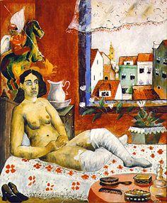 Gamboa do Carmo no Recife | Cícero Dias | 1929 Magritte, Cultural, Amazing Art, Canvas, Classic, Painting, Art History, Recife, Visual Arts