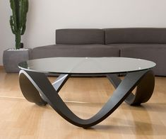 Emmemobili Sumo Low Table Dark Oak