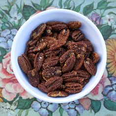 Sweet and Spicy Pecans   Healthy Green Kitchen