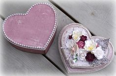 Mitt Lille Papirverksted: A Heart Box with Secrets