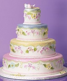 The 50 Most Beautiful Wedding Cakes | Wedding Ideas | Brides.com : Brides......