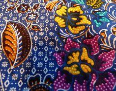 Wonderful: 180x100cm beautiful Indonesian fabric, 100% cotton, sarong, Sari, patchwork, quilt, batik