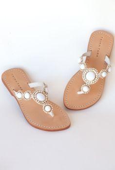 trina turk....summer sandals