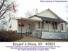 My Papaw Adams' brother and his wife ran this store for many years Knox County, Old Country Stores, Old Pictures, Kentucky, Countryside, Brother, Shed, Old Things, Outdoor Structures