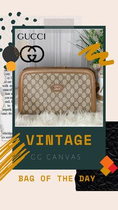 Versatile GG Supreme Canvas Crossbody   This is your perfect day to night bag!  #guccihandbags #guccibag #guccicrossbody #guccivintage #guccioutfits Gucci Outfits, Gucci Crossbody, Gucci Handbags, Vintage Gucci, Louis Vuitton Damier, Supreme, Stitch, Night, Canvas