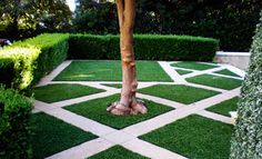 Landscape ideas with artificial turf