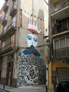 Graffiti visto en Valencia