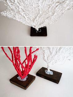 Tự chế cây san hô đẹp như thật mà siêu đơn giản Gala Themes, Acrylic Pouring Art, Under The Sea Theme, Ideas Para Fiestas, Center Table, Baby Shark, Beach Themes, Party Fashion, Tricks