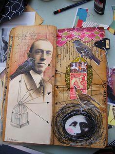 Bird Man pages. by Anahata Katkin / PAPAYA Inc.
