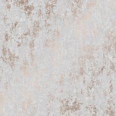Milan Metallic Wallpaper Grey Rose Gold - Wallpaper from I Love Wallpaper UK Grey And Gold Wallpaper, Copper Wallpaper, Grey Wallpaper, Textured Wallpaper, Pattern Wallpaper, Bedroom Wallpaper, Office Wallpaper, Industrial Wallpaper, Modern Wallpaper