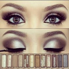 How To Make A Great Smokey Eye Naked