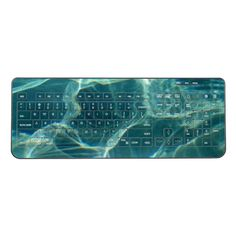 Shop Cool Water Wireless Keyboard created by BlueRose_Design. Freedom Design, Blue Fashion, Cool Gifts, Keyboard, I Shop, Cool Stuff, Mice, Water, Ocean