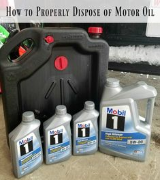 You can save some cash when you do your own oil change, but it's also important to know how to properly dispose of motor oil. Click to find out! #EarthDayDriveAway #ad