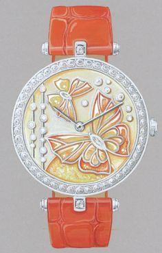 Van Cleef & Arpels - Lady Arpels Papillon Orange Solaire
