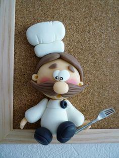 Cozinheiro de Biscuit ♥