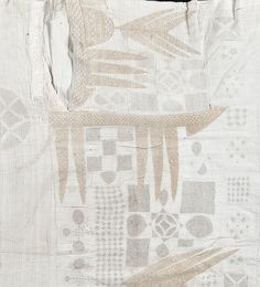 "vauxvintage: "" 19th century- West African textile """