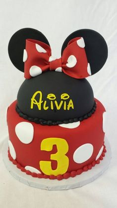 Red Minnie mouse
