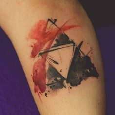Watercolor Triforce tattoo done by @artworkofdenersilva. To submit your work use…