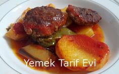 Fırında Sebzeli Köfte Tarifi Resimli sade anlatımıyla fırın yemeklerinizde bir alternatif... #meatball #with #vegetables #oven #recipe #firinda #sebzeli #kofte #yemektarifevi