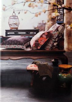 Oriental Chinese Interior Design Asian Inspired Work Office Home Decor http://www.interactchina.com/home-furnishings/#.VSiZ2_mUfYA