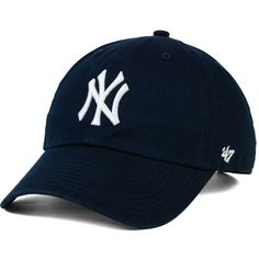 3ae6e6386fee0 New York Yankees '47 MLB On-Field Replica '47 CLEAN UP Cap ($25) ❤ liked on  Polyvore featuring home and kitchen & dining