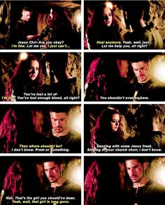 His smile when he talks about the girl she should have been and the way it falls when she says that girl is long gone. From Dusk Till Down, Dusk Till Dawn, Dj Cotrona, Zane Holtz, Lincoln And Octavia, Writers Notebook, Partners In Crime, Geek Chic, Books