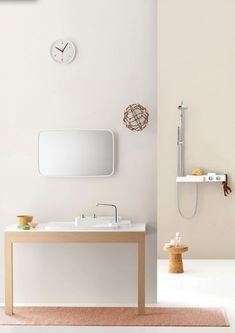 18fa47aea37 White bathroom furniture designed by the French brothers Bouroullec