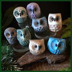 Polymer Clay Owls! Wishing Well Workshop