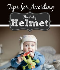 Plageocephaly is much more common now that babies are recommended to sleep on their backs. Follow these tips to help your baby avoid getting a flat head