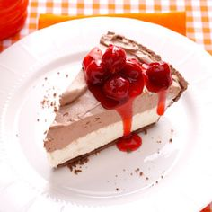 Black Forest Cheesecake Recipe from Taste of Home -- shared by Christine Ooyen of Winnebago, Illinois