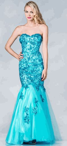2deaf48a5b Gorgeous Strapless Fully Sequined Mermaid Style Prom Dress  prom  pageant   gownsanddresses  formaldress