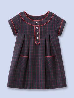 Girls: Alodie Dress by Jacadi at Gilt Frocks For Girls, Kids Frocks, Little Dresses, Little Girl Dresses, Toddler Dress, Toddler Outfits, Baby Dress, Kids Outfits, Little Girl Fashion
