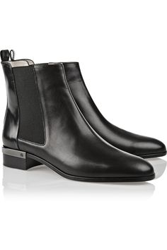 Reed Krakoff | Polished-leather Chelsea boots | NET-A-PORTER.COM
