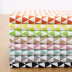 Triangle Zone Series Sewing Quilting Fabric 8Color 1/8yard Package100% Cotton Fabric Shop Quality  By the 1/8 Yards 9 Pieces Bundle