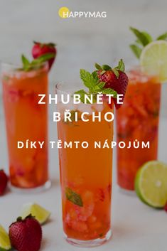 Keto Cocktails, Cocktails To Try, Classic Cocktails, Cocktail Recipes, Healthy Drinks, Healthy Recipes, Spiced Rum, Frozen Strawberries, Cocktail Making