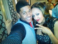 Melanie and Derwin (Tia Mowry and Pooch Hall) I HATE HATE HATE THAT THEY LEFT THE SHOW!!!!!!