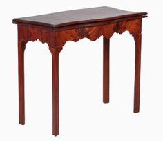 Examples of Antique Furniture Leg Styles: Marlborough Leg