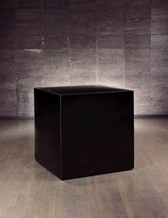 Black Cube by Marian Karelm, 2000 | Corning Museum of Glass