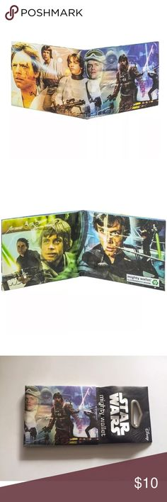❗️ 1 DAY SALE❗️Star Wars LUKE SKYWALKER WALLET Dynomighty Star Wars LUKE SKYWALKER MIGHTY WALLET Made Of Tyvek DY-843  Brand new in package   PLEASE SEE MY OTHER MIGHTY WALLETS FOR OTHER GREAT DEALS Dynomighty Other