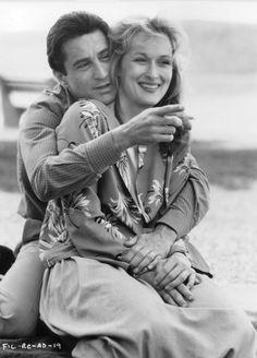 Meryl Streep and Robert De Niro - 'Falling in Love', 1984.