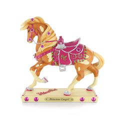 The Trail of Painted Ponies Rhinestone Cowgirl Sculpture