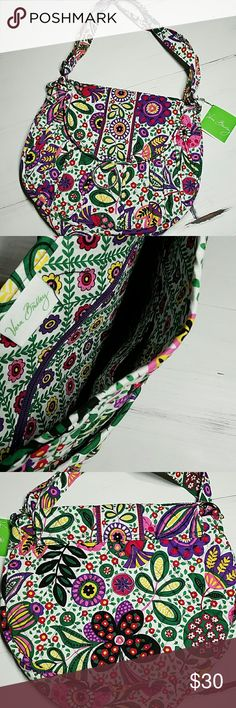 Vera Bradley Saddle Up Hipster Crossbody Purse Perfect condition, never used, with tag!  Retired VIVA LA VERA pattern  * Looking for more Vera Bradley items, visit my closet. DON'T FIND WHAT YOU ARE WANTING, JUST ASK? :)  * 10% OFF BUNDLES! * FAST SHIPPING! Vera Bradley Bags Crossbody Bags