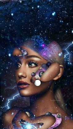 Image in ariana grande☺💜 collection by Galistmoonlight Ariana Grande Fotos, Ariana Grande Cute, Ariana Grande Drawings, Ariana Grande Pictures, Ariana Grande No Makeup, Wallpaper Ariana Grande, Ariana Grande Background, Tres Belle Photo, Halloween Wallpaper