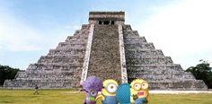 Mayan Pyramid, actually it might be Aztec.