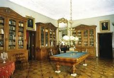 Palace in Skierniewice  - library .
