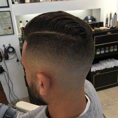 "405 Likes, 7 Comments - Axel Comolli (@axel_barber_comolli) on Instagram: ""Product : grooming tonic Reuzel - pomade blu Reuzel #sfuma #haircut #hair #menshair #razorfade…"""