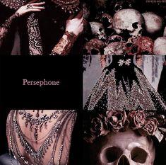 raveyn-an-ort: Aesthetic: Persephone Persephone Greek Goddess, Hades And Persephone, Aphrodite, Hades Aesthetic, Queen Aesthetic, Greek Mythology Gods, Greek Gods And Goddesses, Roman Mythology, Yasmine Galenorn