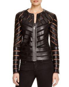 a21842e85fa Bagatelle Cutout Faux Leather Jacket Women - Bloomingdale s. Наряды С  Кожаной КурткойДизайн Из КожиКуртки Из Искусственной ...