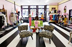 Small Boutique Interior Design Idea